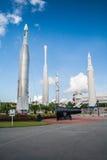 火箭队庭院肯尼迪航天中心 库存照片