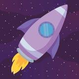 火箭队空间设计 向量例证