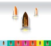 火箭队载体纹理&商标 免版税库存图片