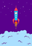 火箭 图库摄影