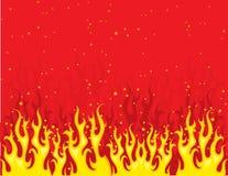 火红色黄色 图库摄影