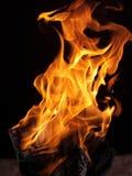 火纹理 免版税库存图片