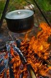 火罐 免版税库存图片