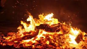 火肆虐几乎烧成灰烬 影视素材