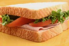 火腿三明治 免版税图库摄影