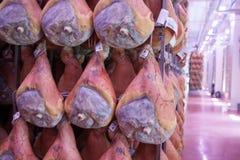火腿熏火腿二帕尔马 库存照片