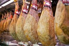 火腿西班牙传统 库存图片