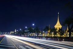 火葬场皇家在曼谷 图库摄影
