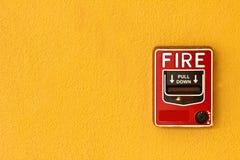 火警 免版税图库摄影