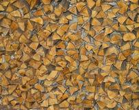 火记录木头 免版税库存照片