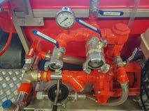 火设备,水泵 图库摄影