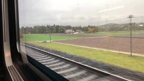 火车乘驾向图恩 影视素材