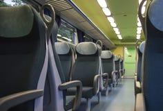 火车位子 免版税库存照片