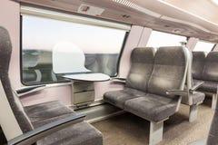 火车位子 免版税库存图片