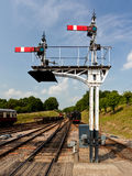 火车信号 免版税图库摄影