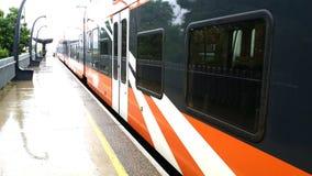 火车向塔林 库存照片