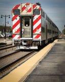 火车向芝加哥 免版税库存图片