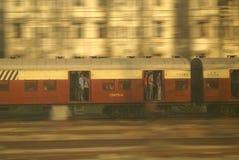 火车在孟买 免版税图库摄影