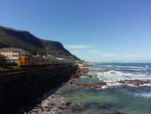 火车在开普敦 库存照片