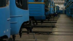 火车在服务集中处 库存图片