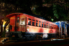 火车在瓜亚基尔,厄瓜多尔 免版税图库摄影