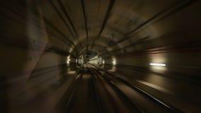 火车地铁隧道速度 股票录像