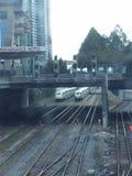火车多伦多 免版税图库摄影