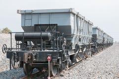 火车拖车 库存图片