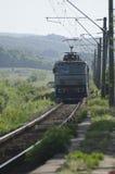 火车接近 免版税库存照片
