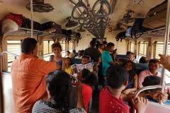 火车旅行在斯里兰卡 免版税库存照片