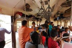 火车旅行在斯里兰卡 库存图片
