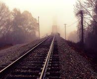 火车桥梁 免版税库存图片