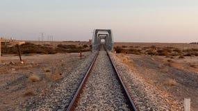 火车桥梁 库存图片