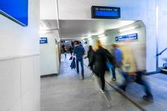 从火车的方式 免版税库存图片