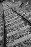 火车的轨道, Drocourt 库存图片