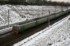 火车的运动 库存图片