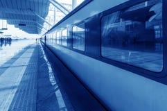 火车站和培训 库存照片