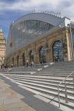 火车站在利物浦 库存照片