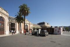 火车站在尼斯,法国 免版税库存图片