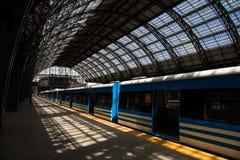 火车站在布宜诺斯艾利斯 图库摄影