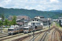 火车站在日本 免版税库存照片