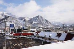 火车站在日本 库存照片