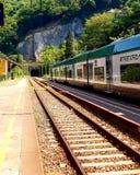 火车站在瓦伦纳 免版税图库摄影