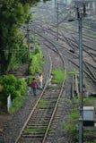 火车站在Gaya,印度 免版税库存照片