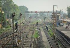 火车站在Gaya,印度 免版税库存图片