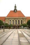 火车站在Gorlitz 德国 免版税图库摄影