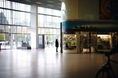 火车站大厅柏林东部驻地 免版税库存图片