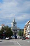 火车站大厦在伏尔加格勒 库存照片