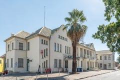 火车站大厦在温得和克 免版税库存图片