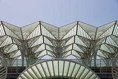 火车站屋顶 免版税图库摄影